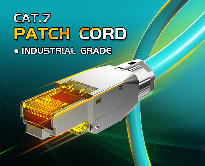 Enmane-Professional Industrial Grade CAT.7 Patch Cord, Game fever Cable